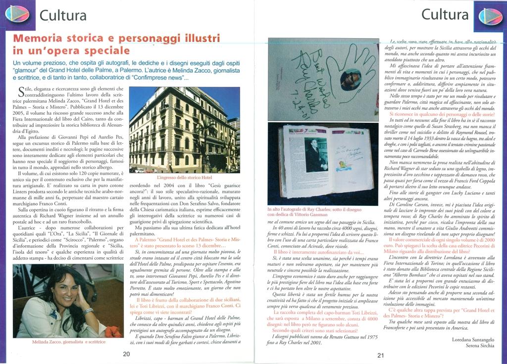 Serena sirchia e loredana santangelo rivista confimprese for Planimetrie di 2000 piedi quadrati una storia